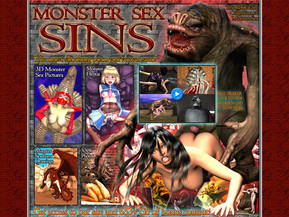 3D monster sex pictures and movies, monster hentai, monster porn drawings and toons, XXX photos of celebrities and pornstars fucked by monsters!
