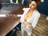 Obedient redhead office girl is swallowing a wide boner in 3D sex action