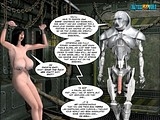 hot human fatty big tit milf is turned to an object of fucking experiments of aliens!