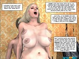 Horny little boy tries nasty dirty milf in all poses creaming her cunt!