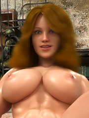 Perfect sticky rounded angel with strong body hopes to jerk off