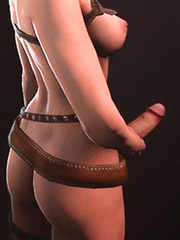 Appetite Triss Merigold striptease out in Witcher erotic photos